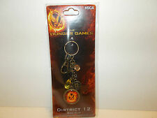 New The Hunger Games Bag Clip District 12 with Mockingjay NECA ages 14 and up