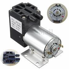 DC12V Pompe à Vide Aspiration Négative Pression électrovanne Vacuomètre Support