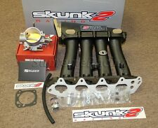 Skunk2 Black Ultra Intake Manifold + 70mm Throttle Body for 97-01 Integra Type R