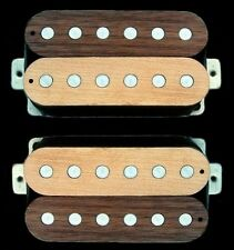 Guitar Part GUITARHEADS PICKUPS LUMBERBUCKER HUMBUCKER Wood SET 2 - MAPLE WALNUT