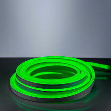 LED Neon Flex SET 220V EC green 600cm Light strip for Indoor Outdoor Supply pipe