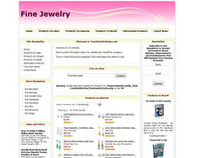FINE JEWELRY STORE - Work-at-Home Affiliate Website - Amazon+Google+Dropship