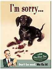 I'm Sorry.. metal fridge magnet    (na)