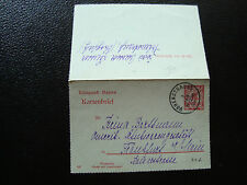 ALLEMAGNE - carte-lettre entier 1910 (cy66) germany