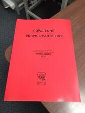 MG C Mgc PARTI CAMBIO MOTORE di potenza manuale catalogo servizio AUSTIN 3 LITRO