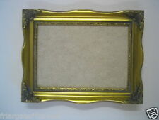 Gold Shabby Chic 8x6 inch  gold picture/photo  frame WITH GLASS