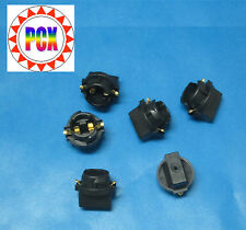 Six Pak of Twist-in Wedge Base Sockets - #555 or #906 bulbs