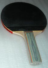 Basic unique style (pips out) rubber table tennis racket bat ping pong paddle $$