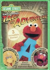 Sesame Street: Elmo & Friends - Tales of Adventure (2011, REGION 1 DVD New)