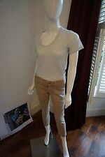 AG Beige Cropped Jeans Size 27 2958