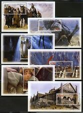 2002 New Zealand - Lord of the Rings . The Two Towers - 6 Souvenir Sheets