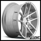 "20"" NICHE TARGA SILVER CONCAVE WHEELS RIMS FITS FORD MUSTANG GT"