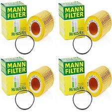 4Pack BMW Oil Filter OEM MANN HU 925/4 X Engine Oil Filter