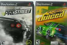 LOTS OF PLAY STATION Need for Speed ProStreet Sony PlayStation 2 play station