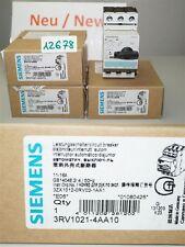 Siemens 3RV1021-4AA10 Salvamotore Protezione Teleruttore Leistungsschalt