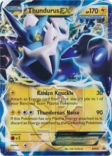 Pokemon BW Black Star Promos Thundurus EX BW81 Near Mint Fast Shipping!