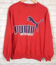VINTAGE RETRO PUMA 90'S SPORTS ATHLETIC SWEATER JUMPER SWEATSHIRT PULLOVER UK M