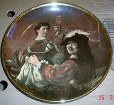 Lord Nelson Pottery LARGE Collectors Plate REMBRANDT & SASKIA
