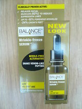 *BALANCE ACTIVE WRINKLE FREEZE SNAKE VENOM FACE SERUM - 82% REDUCTION IN LINES*