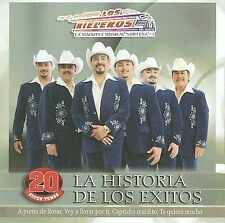La Historia De Los Exitos [Audio CD] Los Rieleros Del Norte
