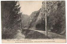 CPA 14 - CONDE SUR NOIREAU (Calvados) - Vallée de la Vère - Route dans la Vallée