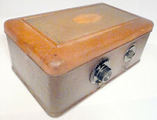 "vintage * ATWATER KENT 40 w/ POWER UNIT- untested/ Nice ""BREADBOX"" SHELL & KNOBS"