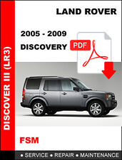 LAND ROVER DISCOVERY 3 LR3 2005 - 2009 FACTORY SERVICE REPAIR WORKSHOP MANUAL