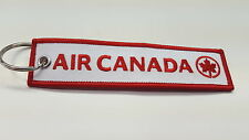 AIR CANADA  REMOVE BEFORE FLIGHT  KEY CHAIN / TAG.