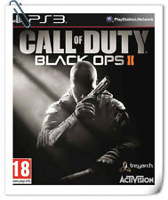 PS3 CALL OF DUTY BLACK OPS 2 II SONY PlayStation Shooting Games Activision