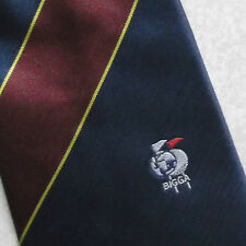 BIGGA TIE VINTAGE BRITISH INTERNATIONAL & GOLF GREENKEEPERS ASSOCIATION 1990s