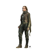 STAR WARS ROGUE ONE JYN ERSO LIFESIZE CARDBOARD STANDUP STANDEE CUTOUT POSTER