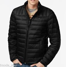 New Tommy Hilfiger Men's Down Quilted Lightweight Packable Jacket - Medium