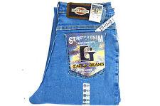 Women Eagle jeans 90s high waist Slim super stretch Stonewashed denim Inseam 30