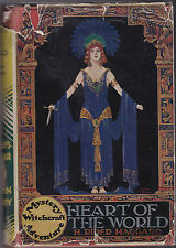 H Rider Haggard - Heart of the World - 1935 - Harrap in RARE Jacket - Witchcraft