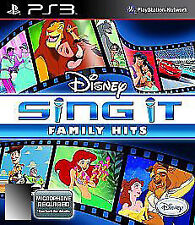 Disney Sing It: Family Hits (Sony PlayStation 3, 2010)