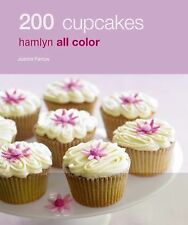 200 CUPCAKES Hamlyn Full Color Photos Paperback Cookbook Dessert Recipe Book