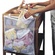 Useful Crib Pocket Storage Baby Clothes Stuff Organizer Chang Laundry Mesh Bags