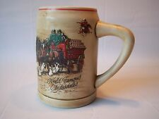 Vintage Horse & Carriage Design World Famous Clydesdales Beer Stein