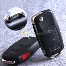 3+1 Buttons Remote Car Key Case Shell For Vw Golf 4 5 6 Passat B5 B6 Polo Bora