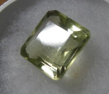 BEAUTIFUL15CT   GOLDEN COLOR NATURAL EARTH MINED LEMON TOPAZ FROM SRI LANKA