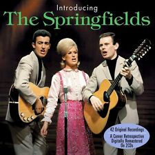 INTRODUCING THE SPRINGFIELDS (NEW SEALED 2CD SET) DUSTY WITH THE LANA SISTERS