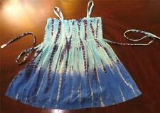 NWT LIMITED TOO JUSTICE GIRL SUMMER TANK TOP SEQUINS BLUE SIZE 18
