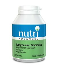 Nutri Advanced Magnesium Glycinate 120 Tablets | FREE Express P&P
