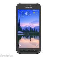 Samsung Galaxy S6 active SM-G890A GRAY - 32GB - Unlocked AT&T Smartphone GOOD