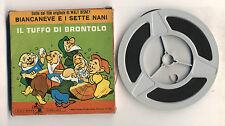 Super 8 S8 IL TUFFO DI BRONTOLO Walt Disney Cinecasa 2101 OTTIMO 8 mm Biancaneve