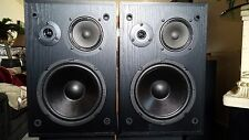 USED Altec Lansing Model 83 3-Way Mid Size Speakers