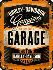 Harley-Davidson Garage, Chopper Motorcycles Logo, Small 3D Metal Embossed Sign