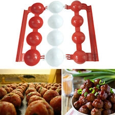 ❉DIY Fill Meatball Maker Fish Food Ball Pellets Home Kitchen Cooking Tools Mold❦
