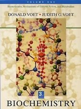 G, Biochemistry, Vol. 1: Biomolecules, Mechanisms of Enzyme Action, and Metaboli