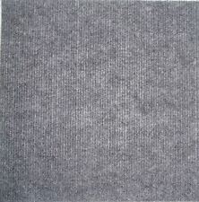 "NEW Carpet Tiles 12"" x 12"" Peel and Stick 10 Sq Ft Square Feet - GREY"